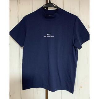 アーペーセー(A.P.C)のA.P.C Tシャツ ネイビー M 刺繍(Tシャツ(半袖/袖なし))