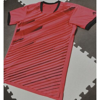 アディダス(adidas)の☆adidas アディダス トレーニングウェア 半袖 赤 サイズO ●ATP-6(ウェア)