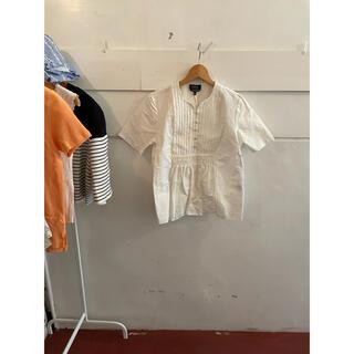 アーペーセー(A.P.C)のA.P.C. linen blouse.(シャツ/ブラウス(半袖/袖なし))