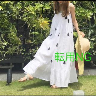ノーブル(Noble)の【本日6/15のみお値下げ】MARIHA マリハ 夏の散歩のドレス(ロングワンピース/マキシワンピース)