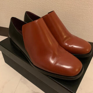 ドリスヴァンノッテン(DRIES VAN NOTEN)のdries van notten 38 タンレザー(ローファー/革靴)
