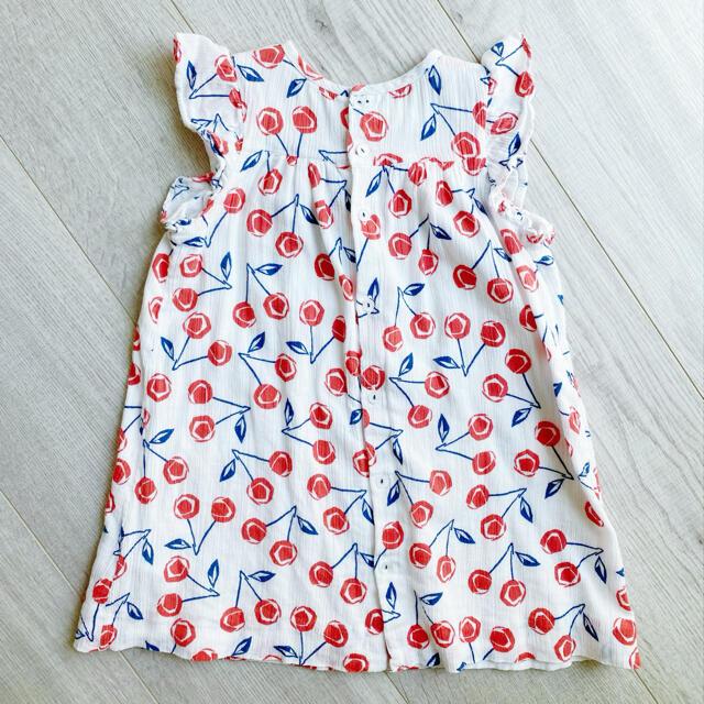 Bonpoint(ボンポワン)のbonpoint ワンピース2A キッズ/ベビー/マタニティのキッズ服女の子用(90cm~)(ワンピース)の商品写真