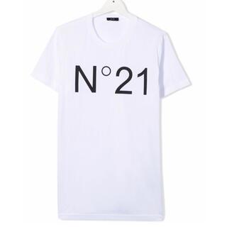 ヌメロヴェントゥーノ(N°21)の【新品】N°21 ヌメロヴェントゥーノ ロゴ Tシャツ 16Y(Tシャツ(半袖/袖なし))