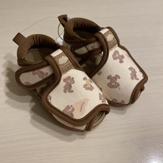フタフタ(futafuta)の新品 フタくま サンダル 13 フタフタ くま バースデイ(サンダル)