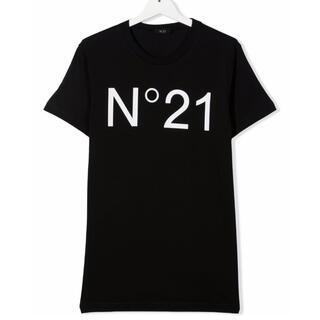 ヌメロヴェントゥーノ(N°21)の【新品】N°21 ヌメロヴェントゥーノ ロゴTシャツ 16Y(Tシャツ(半袖/袖なし))