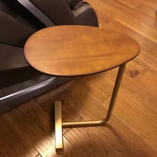 入手困難 オリジナル高級サイドテーブル別荘テーブル北欧木製1脚コーヒーテーブル