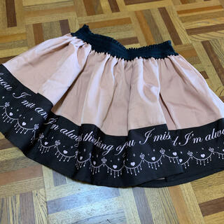 リズリサ(LIZ LISA)のLIZLISA Penderie スカート ピンク(ミニスカート)