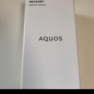 AQUOS - SHARP AQUOS sense 4 SH-M15 シルバー SIMフリー