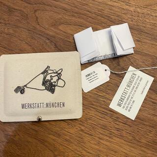 アンドゥムルメステール(Ann Demeulemeester)のWerkstatt:München chain mini two tags(ネックレス)