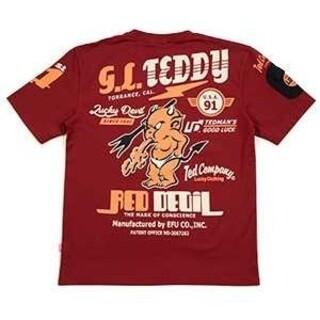 テッドマン(TEDMAN)のテッドマン/Tシャツ/ワイン/TDSS-533/エフ商会/カミナリモータース(Tシャツ/カットソー(半袖/袖なし))