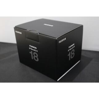 富士フイルム - ★ 新品!★ FUJIFILM FUJINON  XF 18mm F2