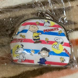 SNOOPY - スヌーピー 小銭入れ がま口財布 Snoopy コインケース 細いチェーン付き