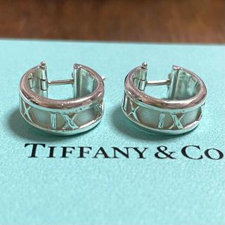 Tiffany & Co. - ティファニー アトラス フープ ピアス スターリングシルバー925