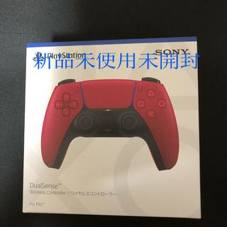 プレイステーション(PlayStation)のPs5 ワイヤレスコントローラー コズミック レッド(その他)