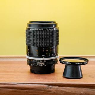 ニコン(Nikon)の万能の銘玉 Nikon Ai Micro-Nikkor 105mm f/2.8S(レンズ(単焦点))