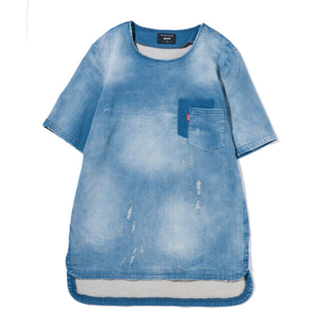 glamb - glamb グラム ブライアンニットデニムシャツ サイズ2