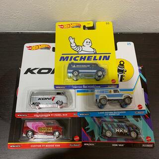 ポルシェ(Porsche)の新品ホットウィール スピード ショップ ガレージ 5台セット ハイエース(ミニカー)
