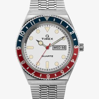 タイメックス(TIMEX)のTIMEX Q ペプシカラーベゼル #TW2U61200(腕時計(デジタル))