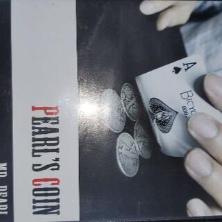 パールズ・コイン Mr. Pearl DVD コインマジック.手品(趣味/実用)