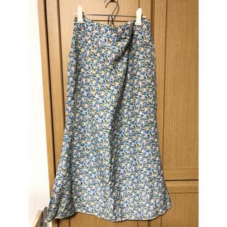 オオトロ(OHOTORO)の韓国製花柄ロングスカート(ロングスカート)