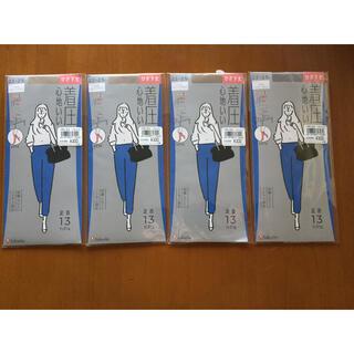 fukuske - 未開封新品 22~25cm フクスケ満足 ひざ下ストッキング 4点定価1320円