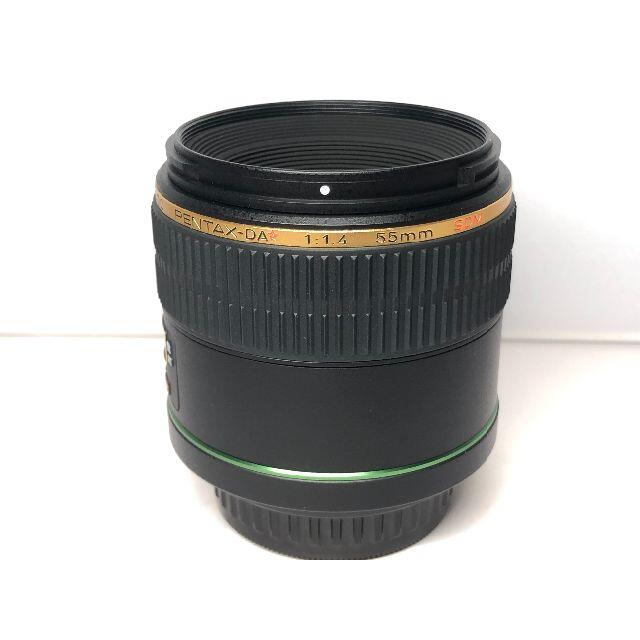 PENTAX(ペンタックス)のペンタックス PENTAX-DA ☆ 55mm F1.4 SDM スマホ/家電/カメラのカメラ(レンズ(単焦点))の商品写真