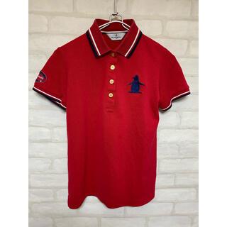 マンシングウェア ゴルフウェア レディース Mサイズ 半袖シャツ ポロシャツ(ウエア)