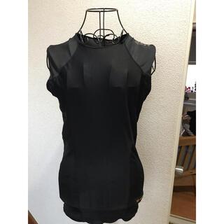 ◆2枚セット◆ ZETT プロステイタス 野球ノースリーブアンダーシャツ黒 L(ウェア)