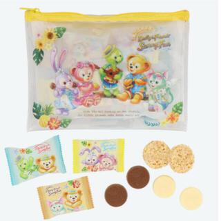 ディズニー(Disney)のディズニーシー限定 サニーファン チョコレートポーチ付き ダッフィー(菓子/デザート)