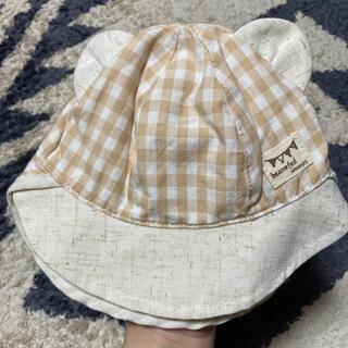 ニシマツヤ(西松屋)のベビー帽子 42cm(帽子)