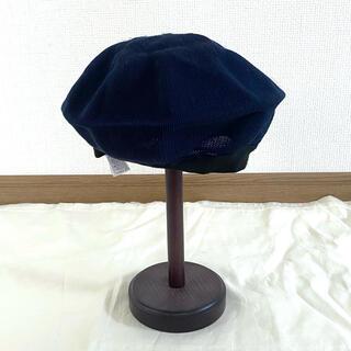 CA4LA - 夏用ベレー帽 ネイビー
