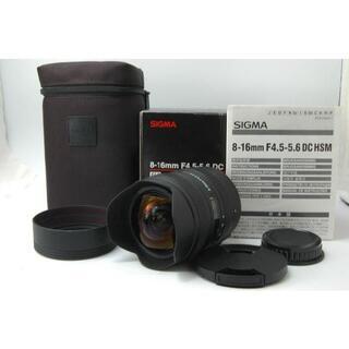シグマ(SIGMA)のシグマ 8-16mm F4.5-5.6 HSM PENTAX #1225353(レンズ(ズーム))