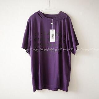 マルタンマルジェラ(Maison Martin Margiela)の【希少】MM6 カレンダーロゴ ナンバー Tシャツ カットソー トップス(Tシャツ(半袖/袖なし))
