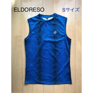 aldies - 美品☆ELDRESO エルドレッソ ランニングシャツ ノースリーブ Sサイズ