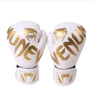 フィットネストレーニング土嚢手袋ボクシンググローブ白(手袋)