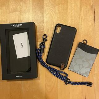 コーチ(COACH)の新品未使用 coach iPhone x xs ケース(iPhoneケース)