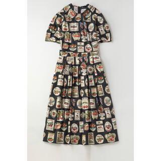 ジェーンマープル(JaneMarple)のJane Marple チェリーラベルコレットドレス(ひざ丈ワンピース)