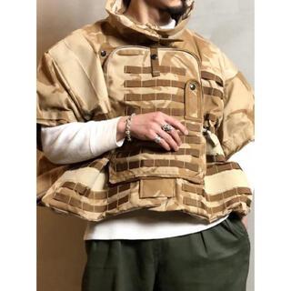 マルタンマルジェラ(Maison Martin Margiela)のdead stock vintage ukレーベル イギリス軍 ベストジャケット(ミリタリージャケット)