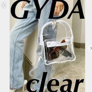 GYDA - GYDA♡新品♡大人気クリアバック♡クリアリュック♡ロゴ入り♡バックパック♡