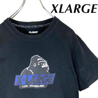 XLARGE - 【XLARGE】tシャツ 黒 ブラック ワンポイント◎ シンプル◎ ストリート◎