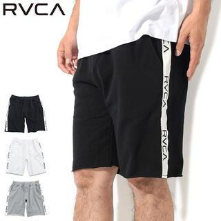 RVCA - RVCA ルーカ ハーフパンツ  メンズ スウェット ショートパンツ ボトムス