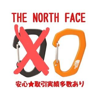 ザノースフェイス(THE NORTH FACE)の新品 オレンジ 一個 カラビナ THE NORTH FACE ノースフェイス(登山用品)