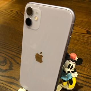 iPhone - 美品! SIMフリー iphone11 64GB パープル