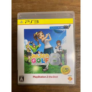 PlayStation3 - みんなのGOLF 6(PlayStation 3 the Best) PS3