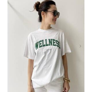 アパルトモンドゥーズィエムクラス(L'Appartement DEUXIEME CLASSE)のタグ付新品⭐️L'Appartement SPORTY&RICHLOGO TEE(Tシャツ(半袖/袖なし))