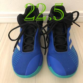 adidas - 美品 アディダス バスケット シューズ  22.5cm