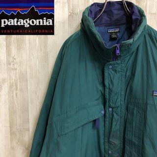 パタゴニア(patagonia)のパタゴニア 中綿 ナイロンジャケット ビッグサイズ ワンポイント ロゴ(ナイロンジャケット)