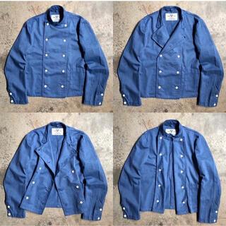 Yohji Yamamoto - オーバーダイ 後染め vintage スウェーデン軍 コックジャケット シャツ