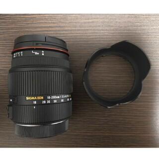 シグマ(SIGMA)のSIGMA18-200mm F3.5-6.3II DC OS HSM(レンズ(ズーム))
