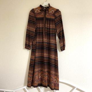 グリモワール(Grimoire)のvintage paisley dress(ロングワンピース/マキシワンピース)